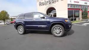 2015 jeep grand limited true blue pearlcoat fc894812