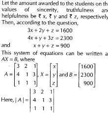 important questions for cbse class 12 maths inverse of a matrix