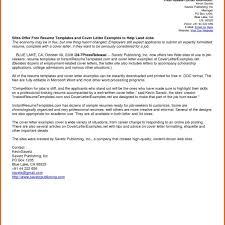 free resume cover letter resume cover letter template samples