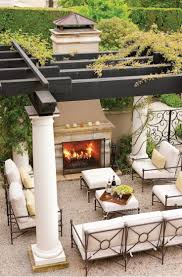 top 12 stunning fireplaces for luxury outdoor living spaces