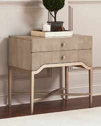 Stainless Steel Nightstand Nightstands U0026 Bedside Tables At Neiman Marcus Horchow