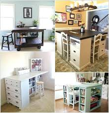 south shore crea craft table south shore crea counter height craft table with storage pure white