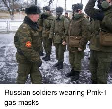 Russian Army Meme - russian soldiers wearing pmk 1 gas masks dank meme on sizzle