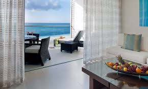 Two Bed Room by Two Bedroom Oceanfront Suite Gansevoort Hotel Turks U0026 Caicos