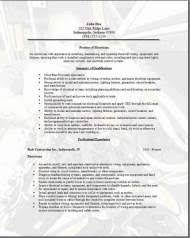Electrician Resume Template Free Electrician Resume Sample Resume Example