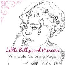 fashion coloring page indian coloring page coloring book page printable