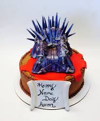 iron cake topper of thrones edible iron throne cake topper