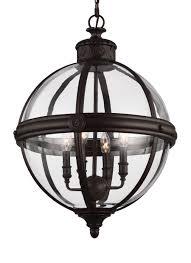 Orb Light Fixture by F2931 4orb 4 Light Adams Chandelier Oil Rubbed Bronze