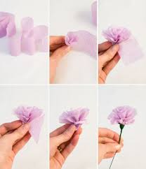 crepe paper flowers one charming party birthday party ideas s day diy crepe