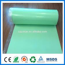 Laminate Flooring Underlayment Soundproof Green Ixpe Underlay With Pe Film For Laminate Flooring