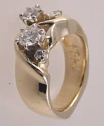 custom wedding rings custom wedding rings made is easier than you may think