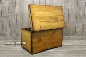 custom wooden trunk