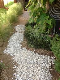 how to build a stable pea gravel path lush landscapes for tough