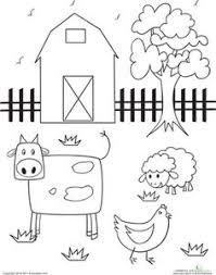 farm animal coloring pages free printable farming and animal