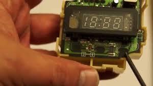 how to fix honda cr v 1997 2001 cabin clock youtube