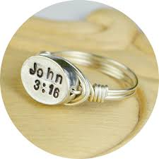 bible verse rings 5 handmade rings that your faith project inspired