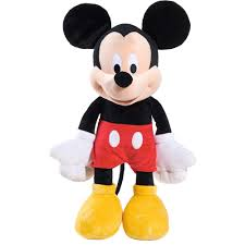 Mickey Mouse Makeup For Halloween by Disney Classic Large Plush Mickey Mouse Walmart Com