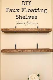 walmart wood shelves bedroom floating shelves diy floating wood kitchen shelves
