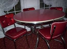 Retro Red Kitchen Chairs - 154 best vintage dinettes images on pinterest kitchen tables