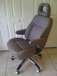 Ultimate Computer Chair Car Seat Transformed Into Executive Office Chair By The Ultimate