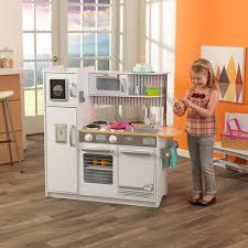 cuisine enfant en bois pas cher cuisine enfant uptown blanche en bois jouet d imitation kidkraft