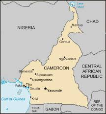 map of cameroon map cameroon centre for intercultural learning