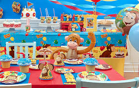 curious george party curious george party supplies birthdayexpress