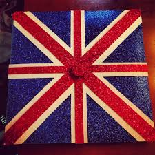 my graduation cap union jack british diy crafts union jack british
