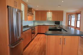 modern kitchen concrete countertops modern kitchen with douglas fir veneer concrete counter tops and