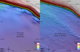 map of the gulf of mexico a 1 4 billion pixel map of the gulf of mexico seafloor eos