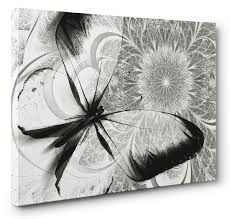 wall design butterfly canvas wall design collection