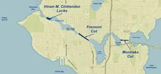 Map Ballard Seattle by Map Of Seattle Ballard Locks Diagrams Free Printable Images