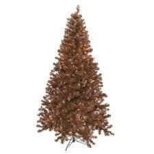 brown christmas tree christmas tree brown christmas lights decoration