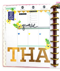 thanksgiving planning in the big happy planner me my big ideas