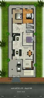 3d House Plans West Facing Best Of 100 Sq Yds 20×45 Sq Ft West Face