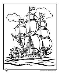 pirate ship coloring pages chuckbutt