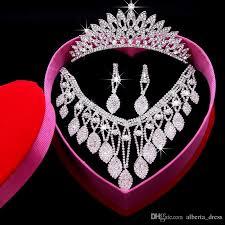 tiaras for sale 2016 hot sale rhinestone flowers bridal jewelry sets crown