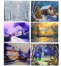 light up xmas pictures christmas canvas ebay