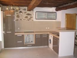 cuisine avec porte fenetre amenagement interieur