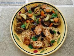 cuisine dietetique cuisine à gogo couscous diététique dinde grillée aubergines