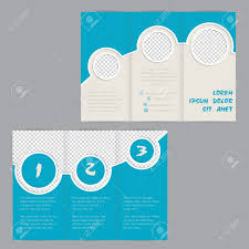 tri fold brochure template illustrator free cool ring design tri fold brochure template design with image