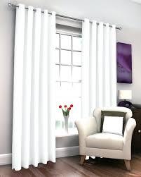 Ebay Curtains White Lined Curtains Ebay Montgomery Rib Plain Eyelet Black And
