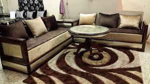 peinture salon marocain peinture beige salon marocain fessi marron 2 idée intérieure