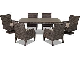 Klaussner Dining Room Furniture Klaussner Outdoor International Outdoor Patio Cascade 84 Dining