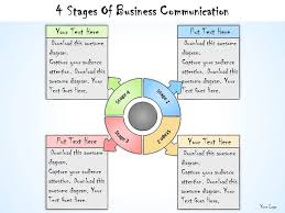 templates for business communication 1013 business ppt diagram 4 stages of business communication