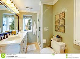 Bathroom Ideas Pictures Free Beautiful Olive And White Bathroom Royalty Free Stock Photography