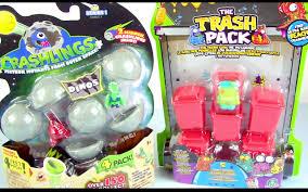 crashlings series 1 dinos trash pack series 4 multipack