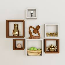 hanging wall shelf with drawer