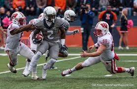 bentley college football gallery ncaa football illinois 13 vs wisconsin 24 sports page