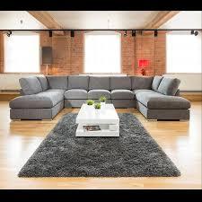sofa set for living room extra large new sofa set settee corner group u shape grey 4 0